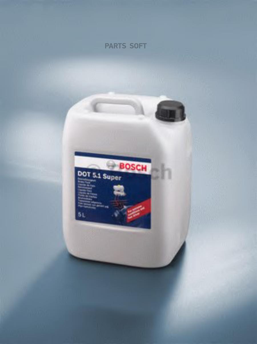 Жидкость тормозная dot 5,1, 'Brake Fluid SUPER', 5л