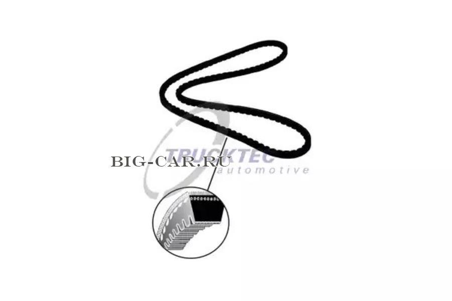Ремень генератора 13x1550. DAF/Iveco/Setra/MAN/MB/RVI/Scania/Volvo