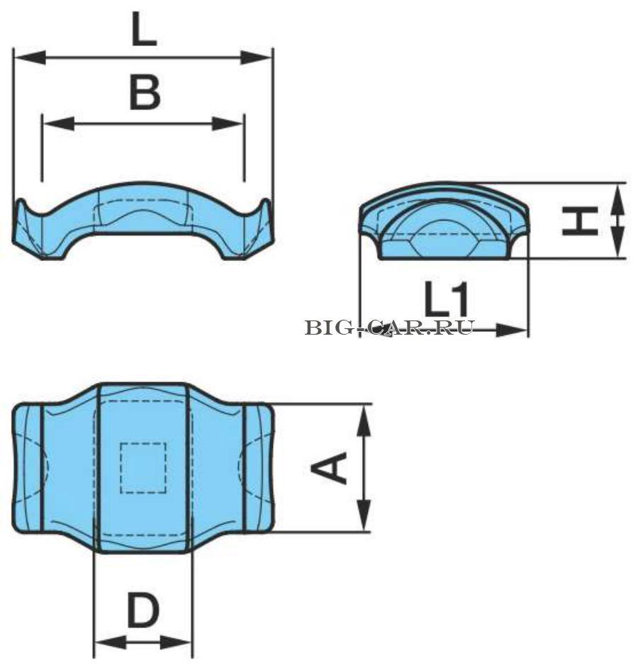 Сегмент стремянки F120