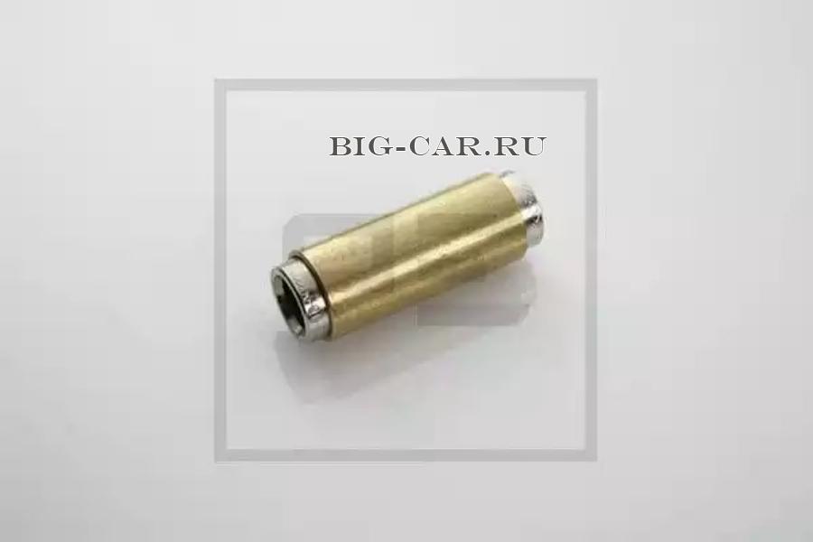 Соединитель прямой для трубок D9-D9 (латунь) L44.1 разъемный