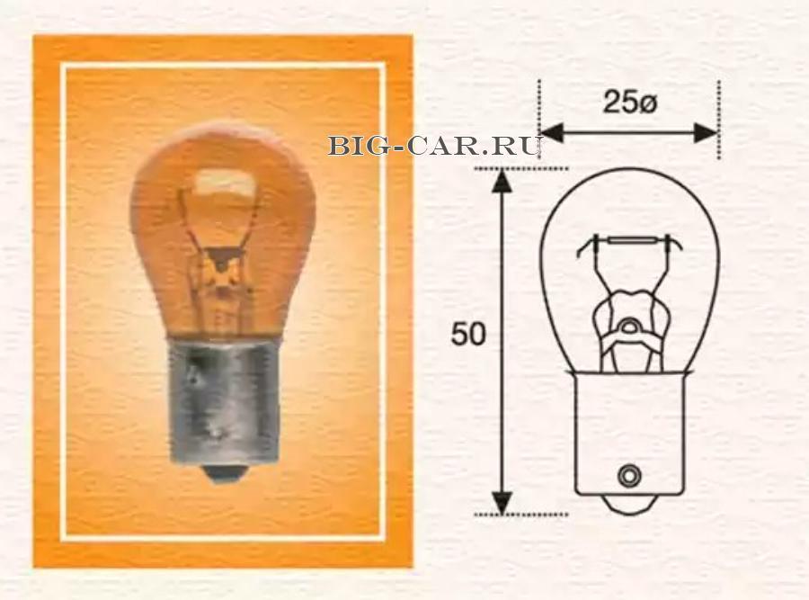 Лампа 24V 21W