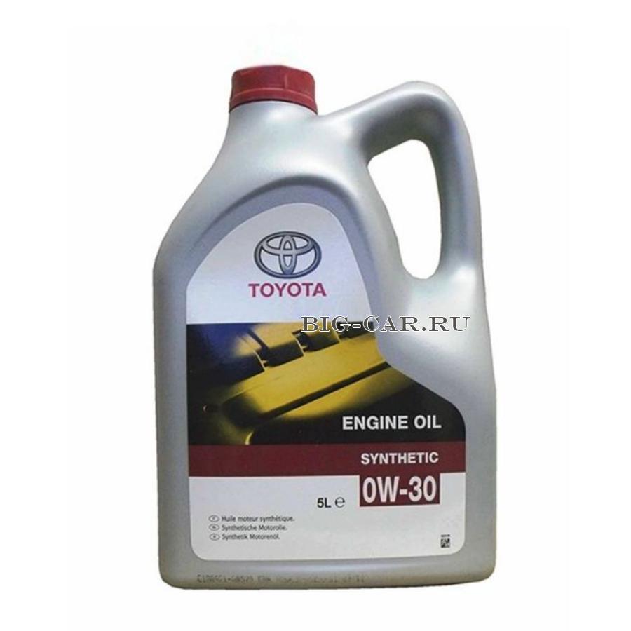 Масло моторное синтетическое ENGINE OIL 0W-30, 5л