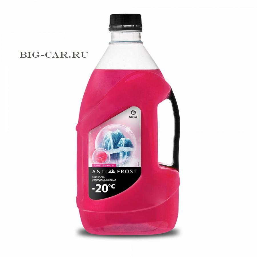 Жидкость стеклоомывающая «Antifrost -20» fruit bubbles (канистра 4 л)