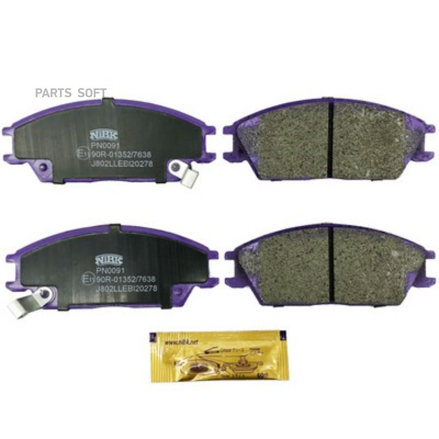Передние тормозные колодки PN0091