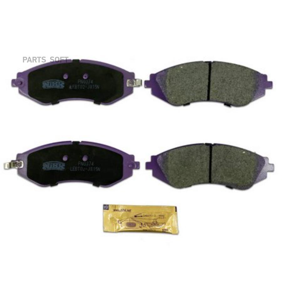 Передние тормозные колодки PN0374