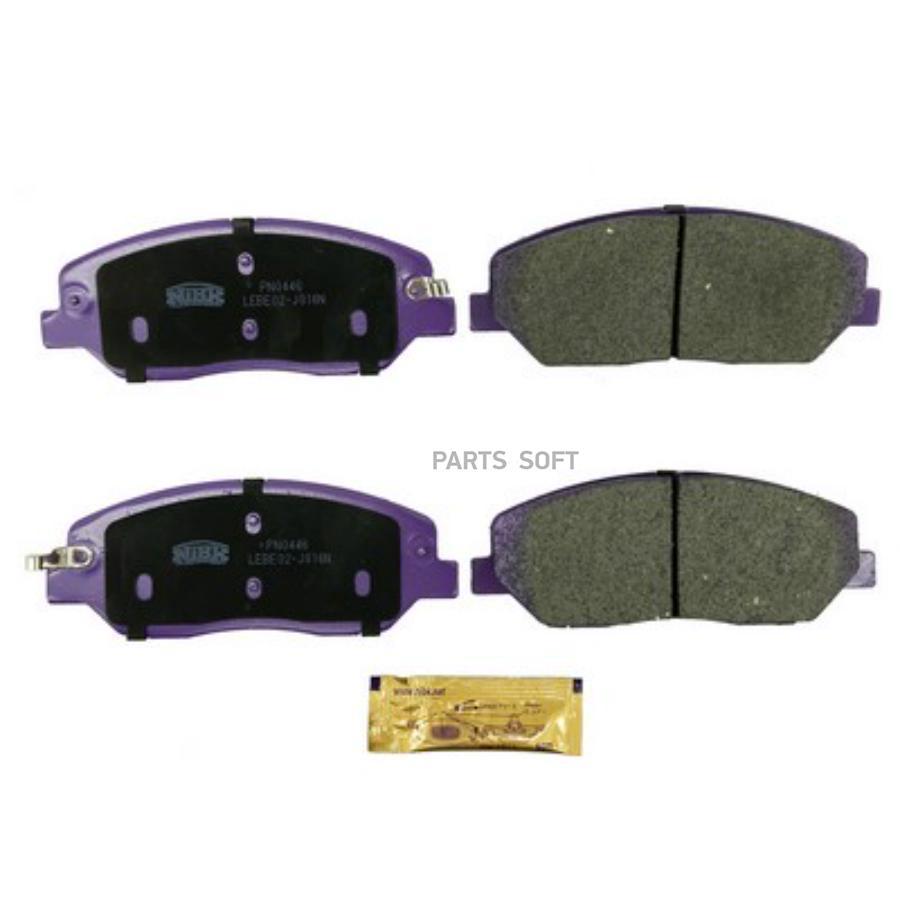 Передние тормозные колодки PN0446