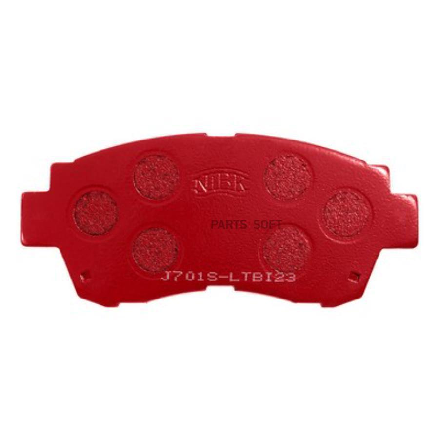 Передние тормозные колодки PN1228S