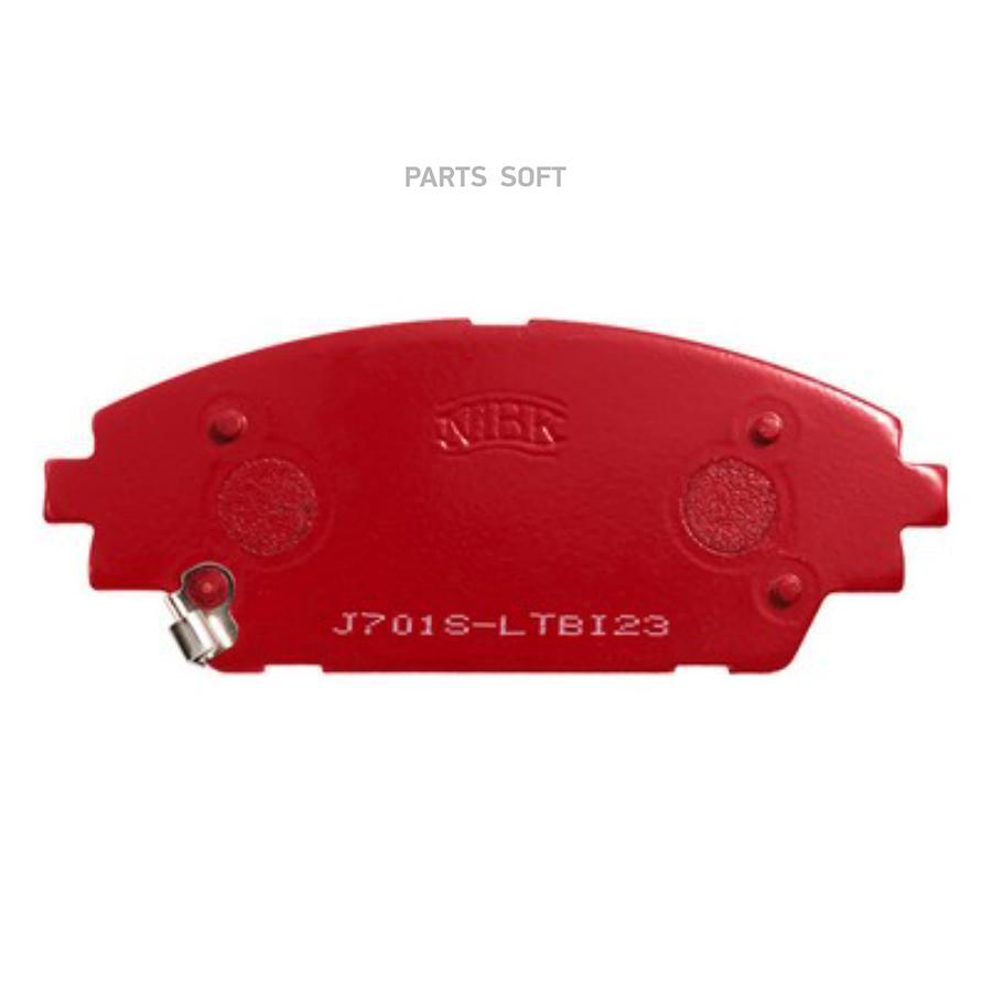 Передние тормозные колодки PN25005S