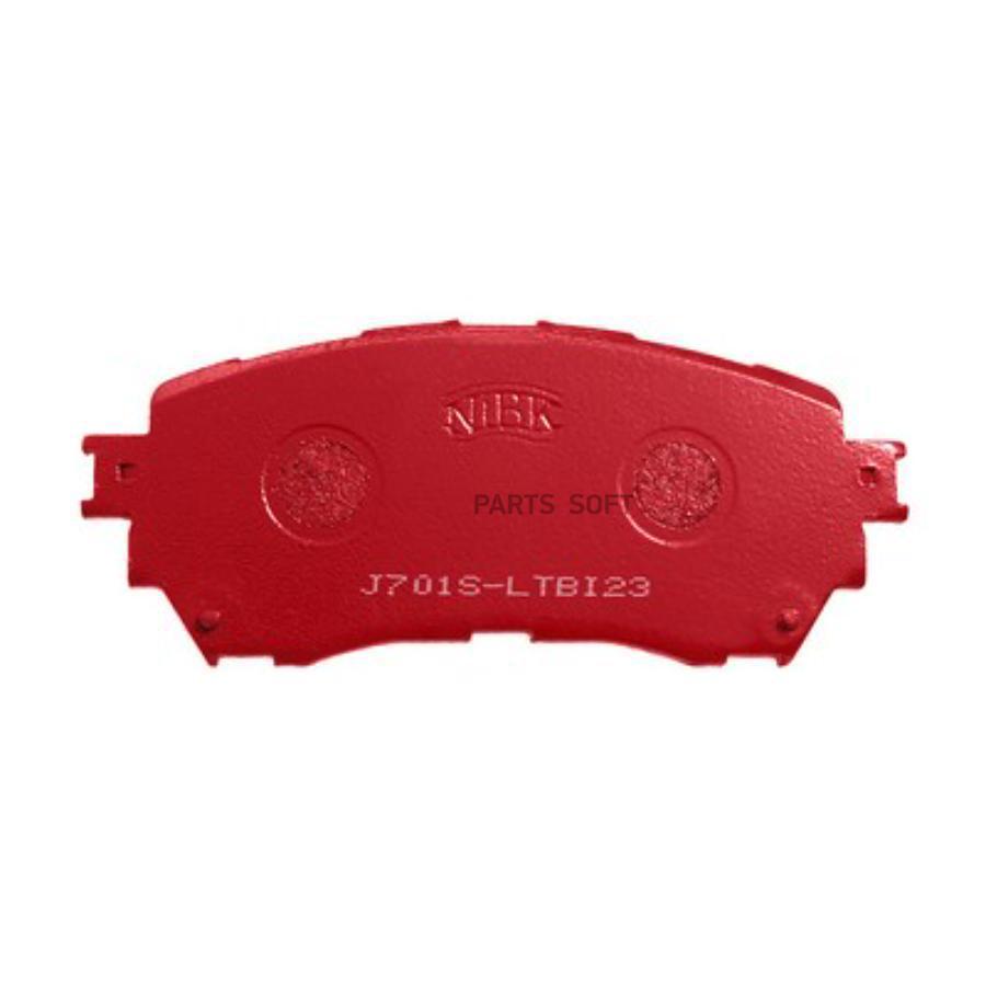 Передние тормозные колодки PN25002S