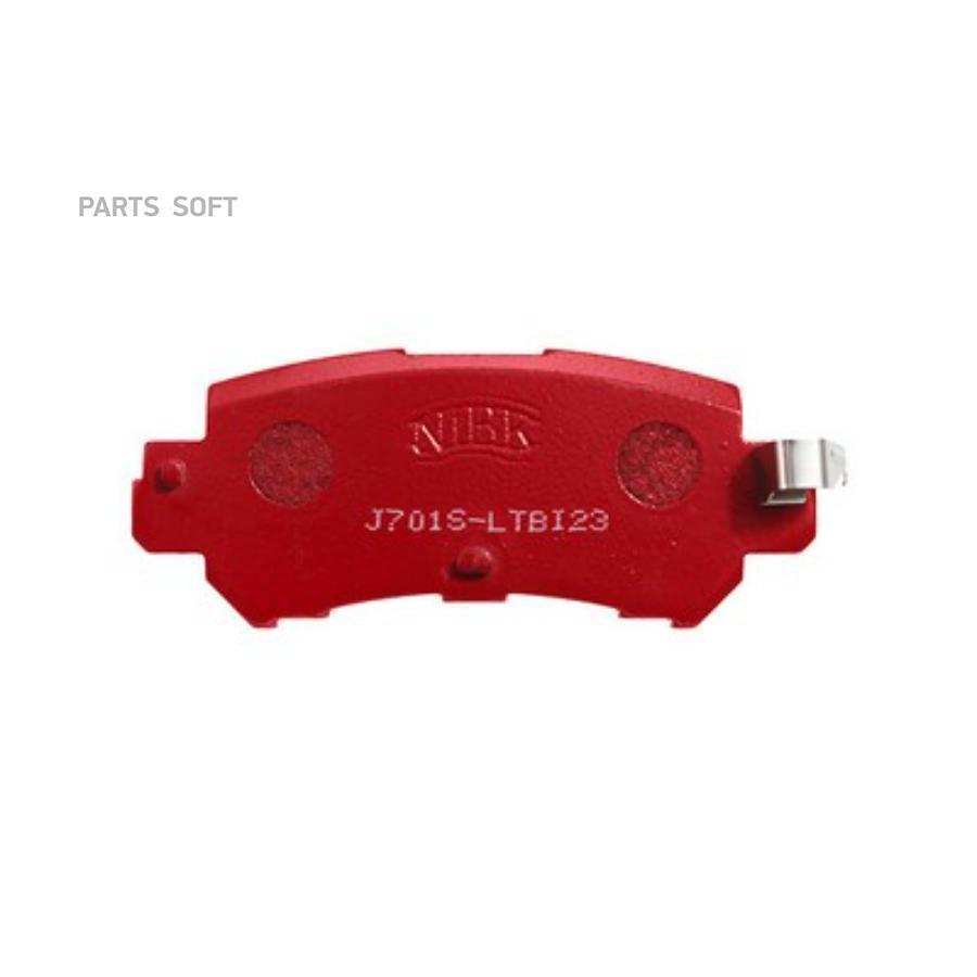 Задние тормозные колодки PN25001S