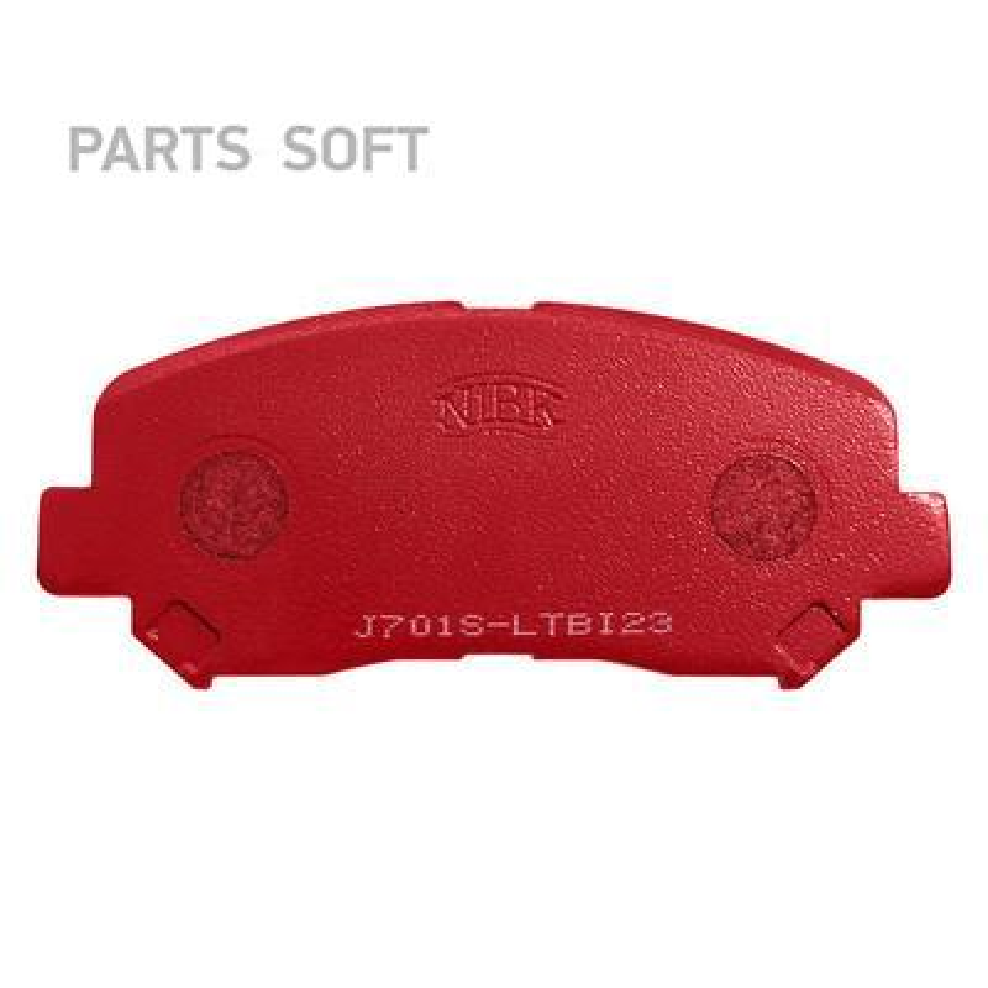 Передние тормозные колодки PN25000S