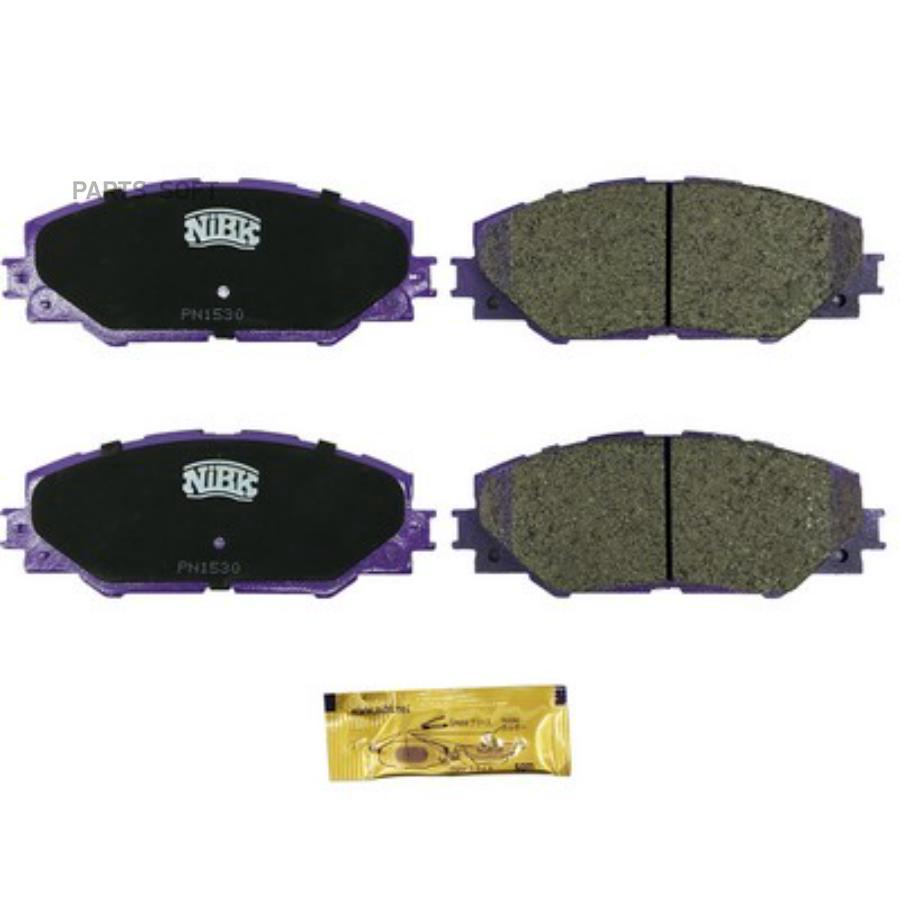 Передние тормозные колодки PN1530