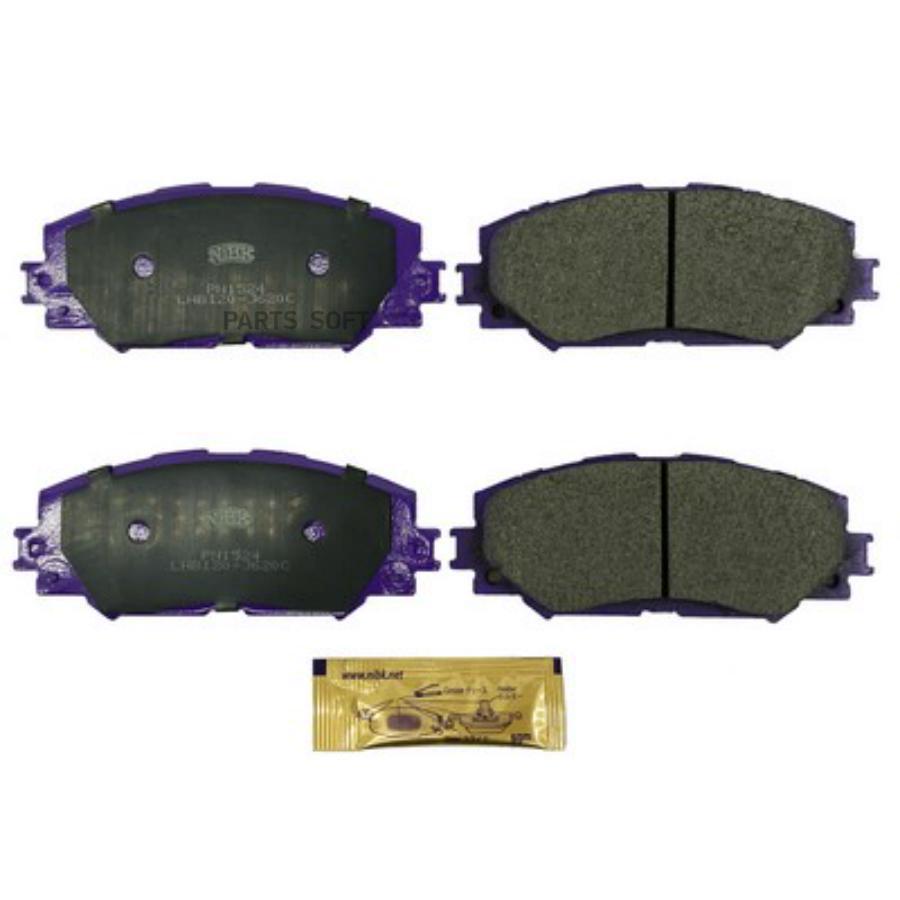 Передние тормозные колодки PN1524