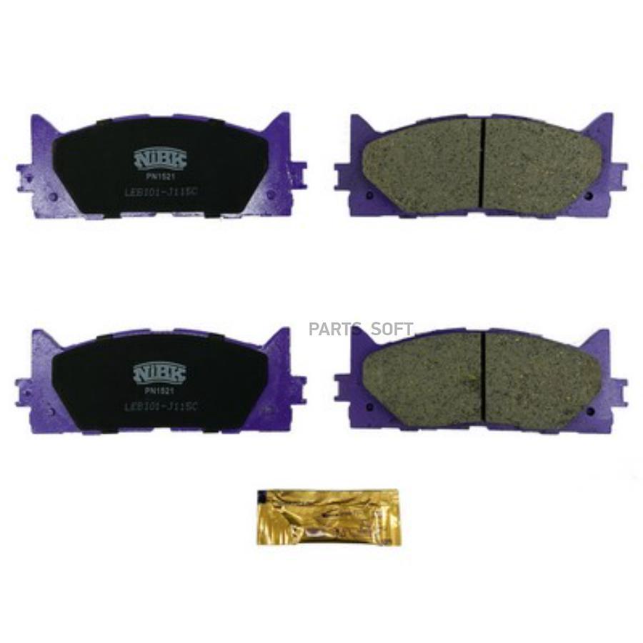 Передние тормозные колодки PN1521
