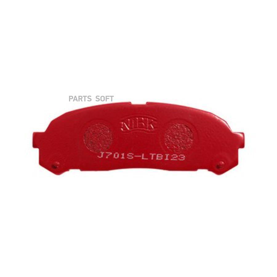 Задние тормозные колодки PN1409S
