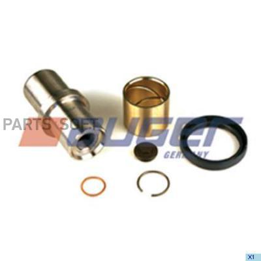 Комплект шкворней поворотного кулака нижний MAN TGA/TGX M24x1,5/o50/o64x119