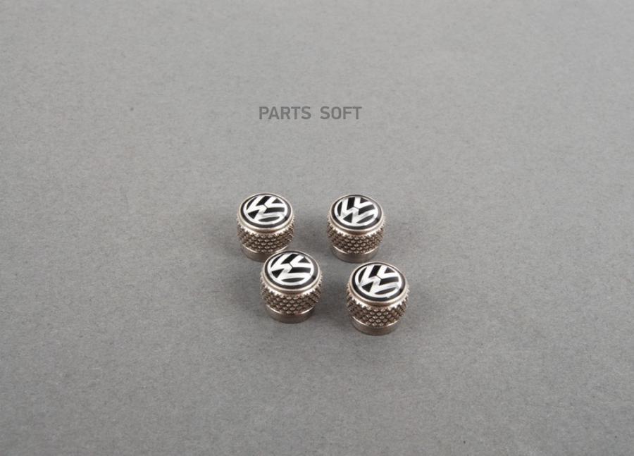 Колпачки на ниппель Volkswagen Valve Dust Caps For Rub/Met