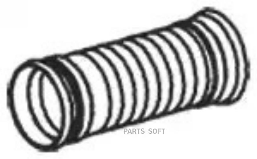 Гофра (цинк) с фланцами ID 103,0 mm L=295 mm EL of 51125