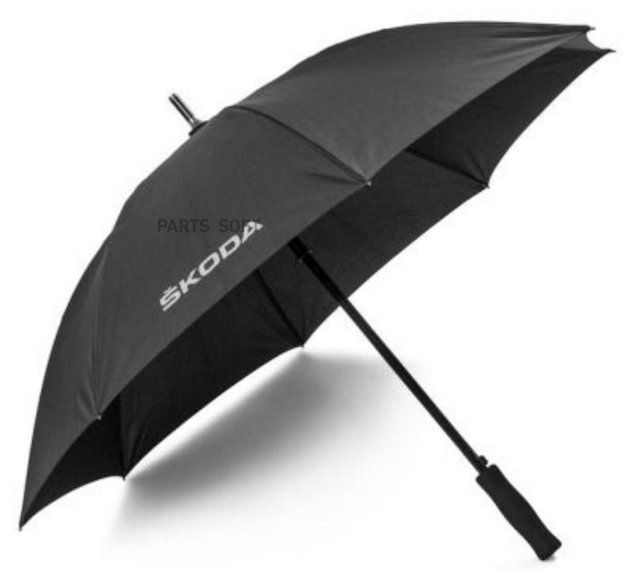 Зонт трость Skoda Stick Umbrella Aquaprint Black