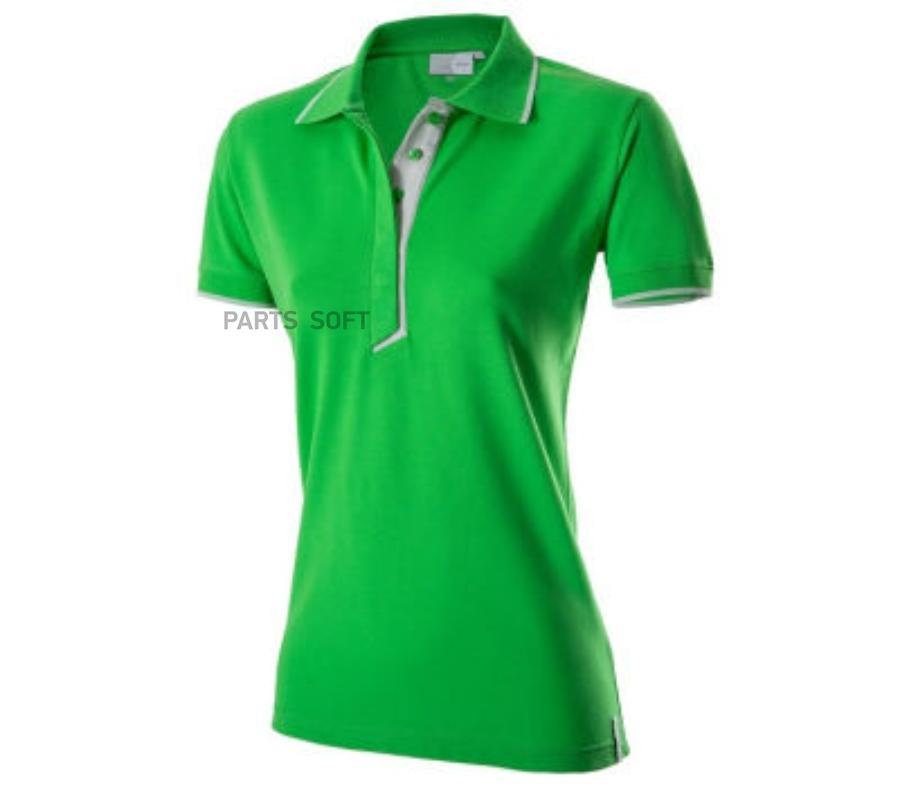 Женское поло зеленое Essential