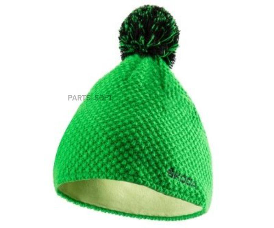Шапка зимняя зеленая M