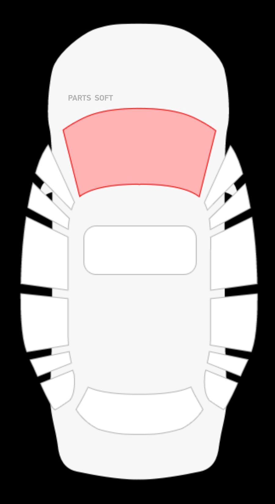 Nissan Tiida 4D  седан / 5D Hbk (07-11) / Versa 4D седан (06-11) /  Dodge Trazo 4D седан (08-11) (без полосы)
