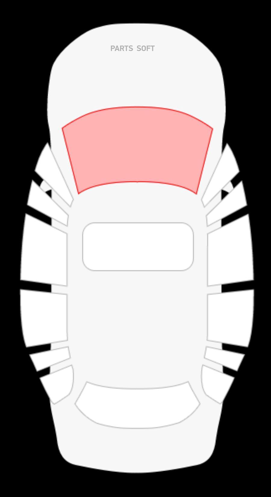 VW Golf II 3/5D Hbk (83-91) / Jetta II 2/4D седан (84-91) (без полосы)