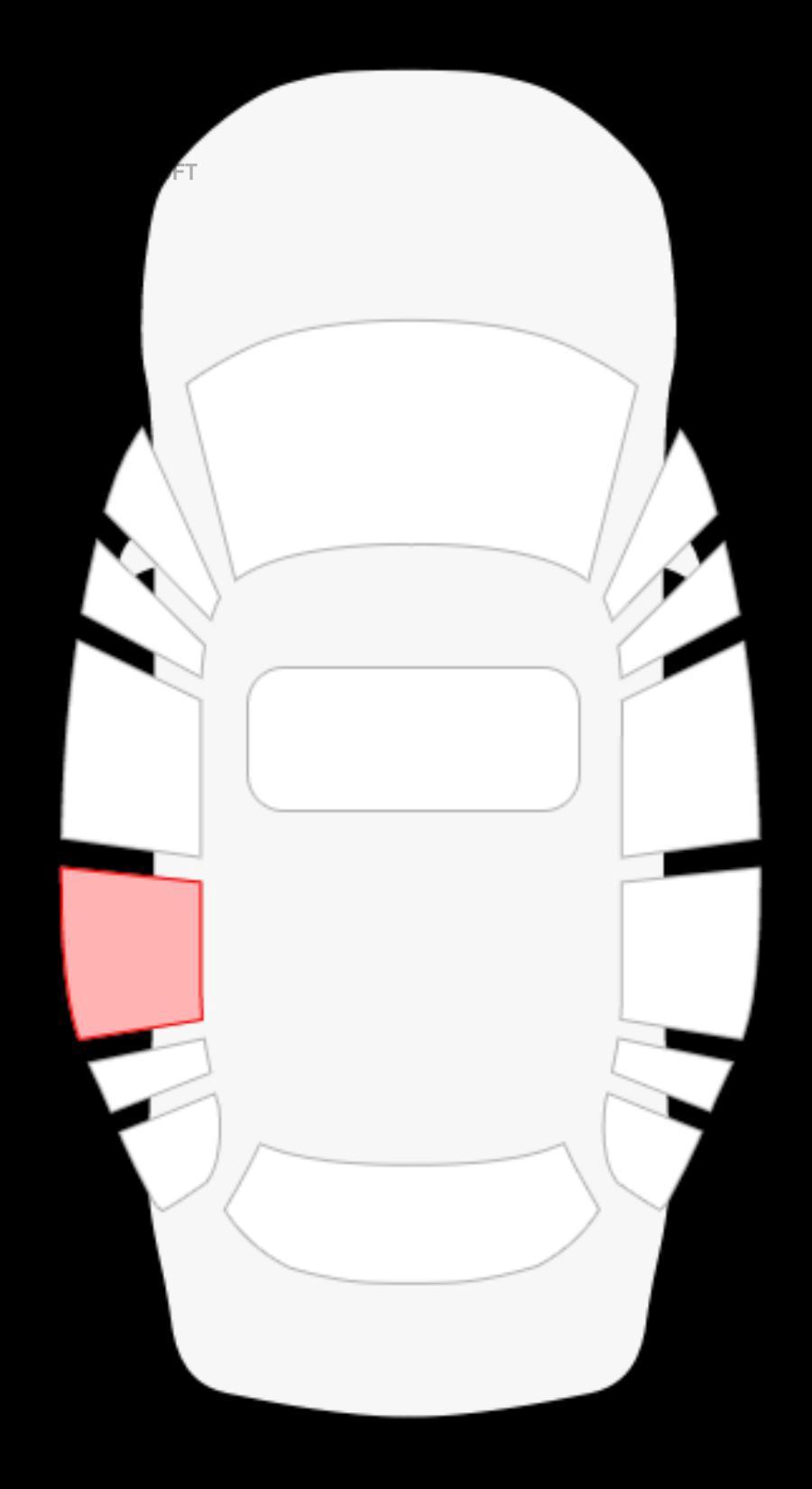 Fiat Ducato (Елабуга) боковое заднее левое рамка раздвижная в сборе (короткая база) ТЗ