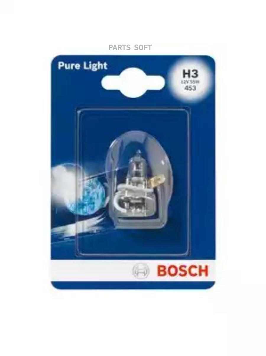 Лампа STANDARD H3 12V 55W (блистер)