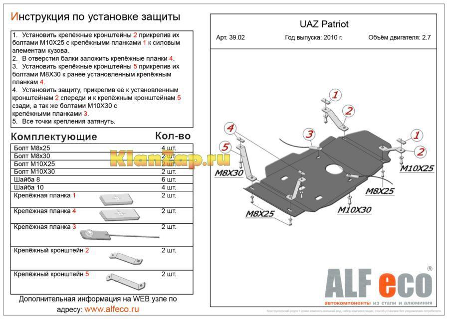 Защита КПП и раздатки