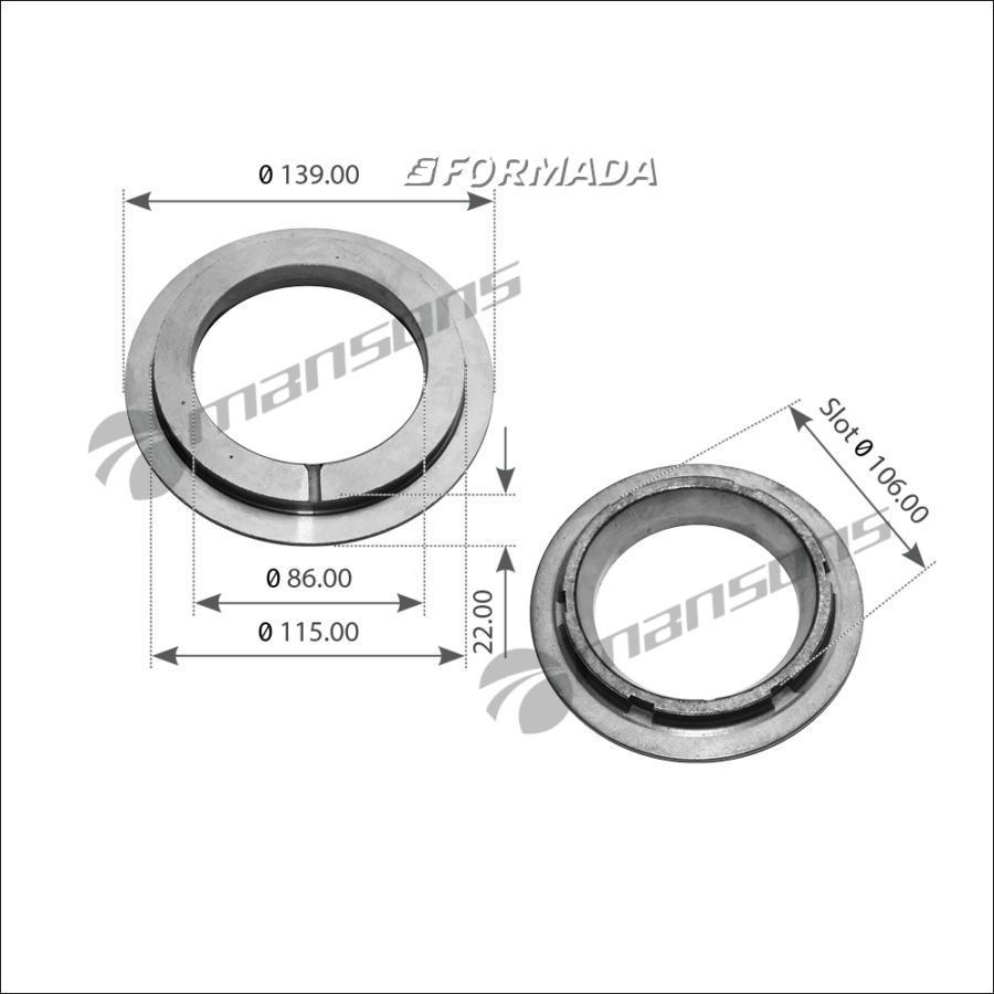 300171 Упорное кольцо ECO 9T  / BPW