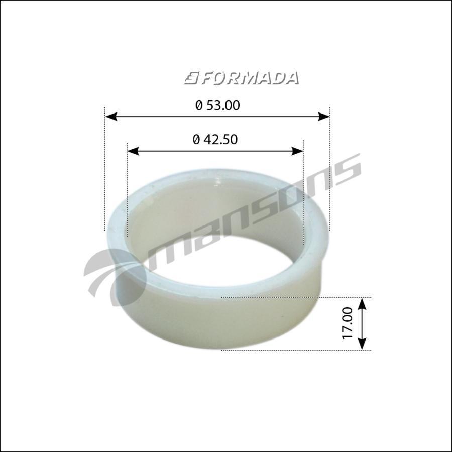 300235 Втулка пальца рессоры 42х54/50x17 /BPW