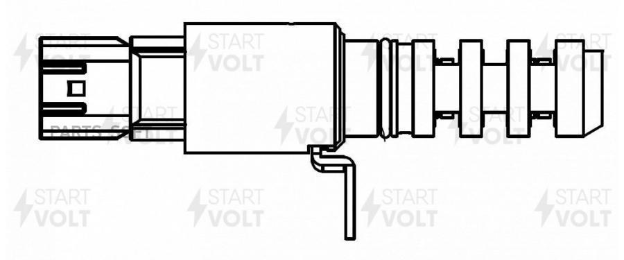 Клапан эл. рег. фаз ГРМ для а/м Nissan Teana L33 (14-)/X-Trail T32 (14-) QR25DE 2.5i (SVC 1405)