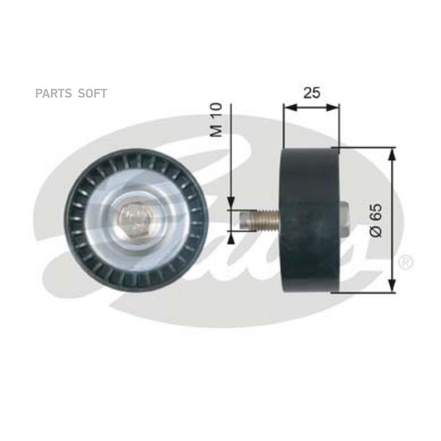 Ролик обводной ремня поликлинового T36322 (7803-21422) GATES T36322