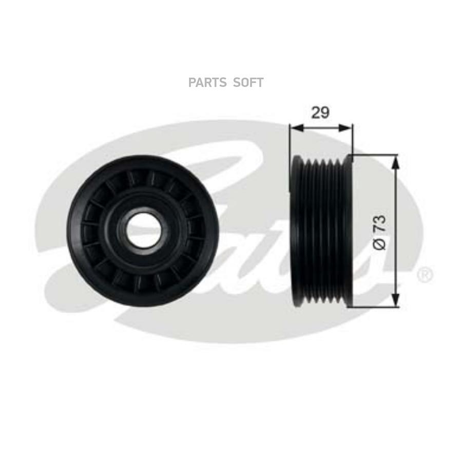 Ролик Ford Focus II, III GATES T36398