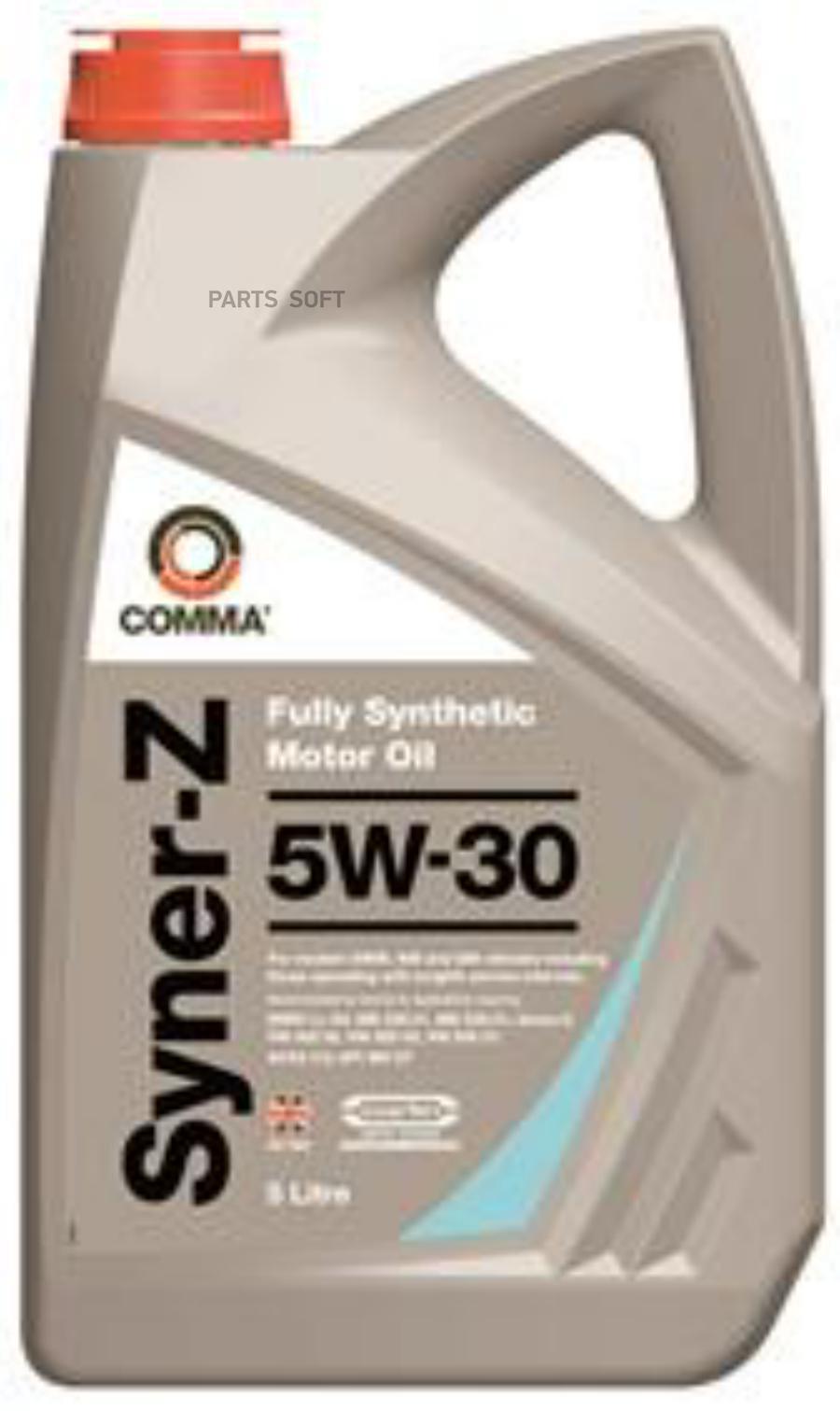 Масло моторное синтетическое Syner-Z 5W-30, 1л