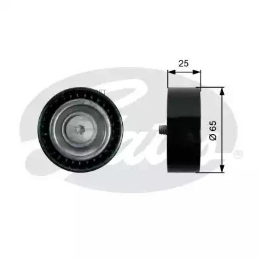 Ролик приводного ремня MB W212/W166/W221 4.7-5.5 1