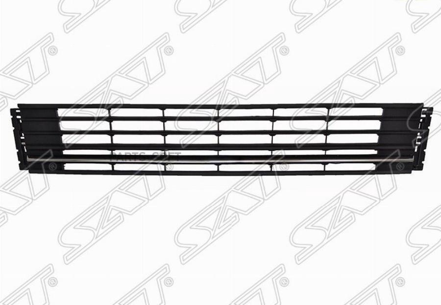 Решетка в бампер VW POLO 15-20 4D хром молдинг