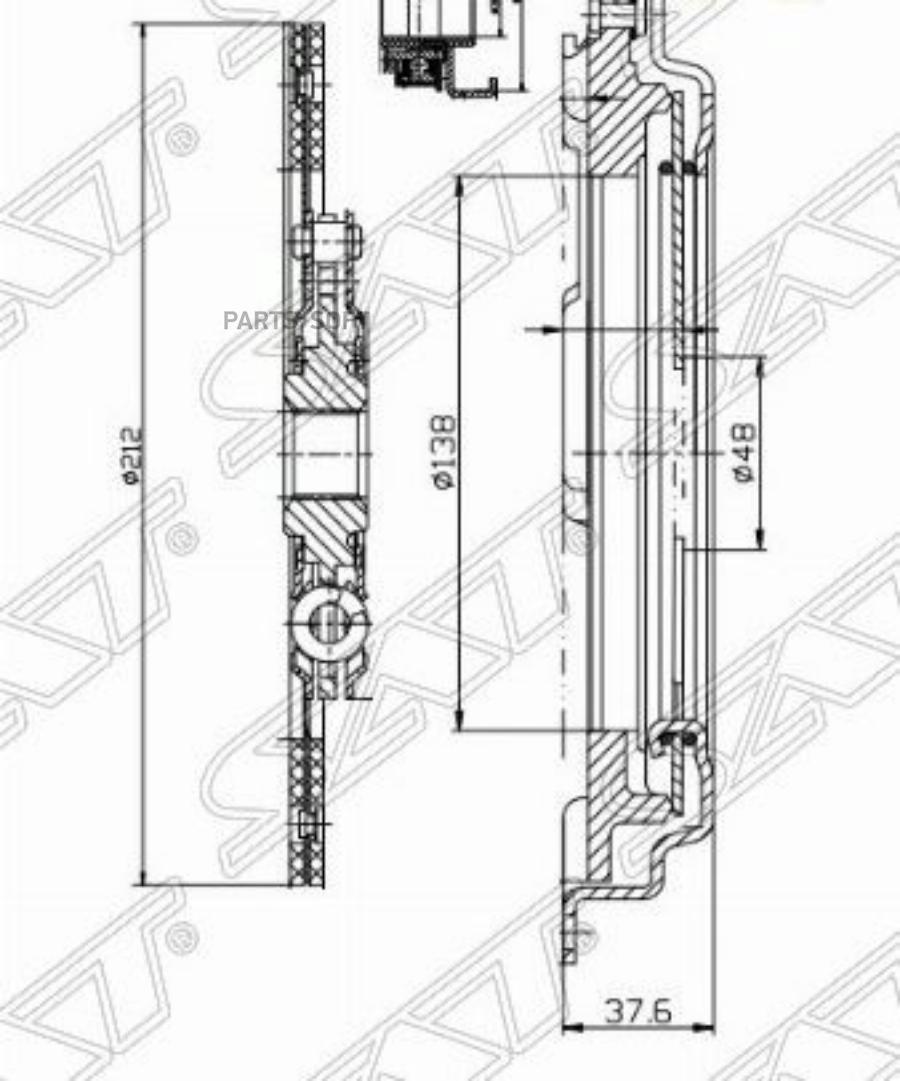 Комплект сцепления HONDA CIVIC EG / EF / EJ / EK / ES / EU 87-05 / HR-V 98-05 1,4 / 1,6