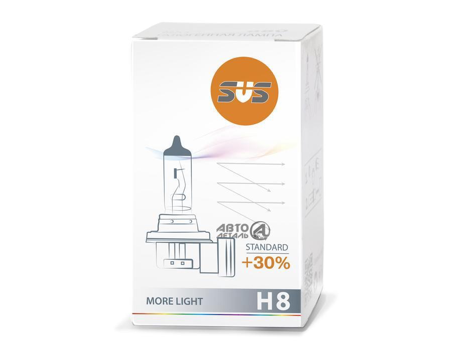 Лампа галогенная 0200008000 H8 12V 35W PGJ19-1 Standard +30%