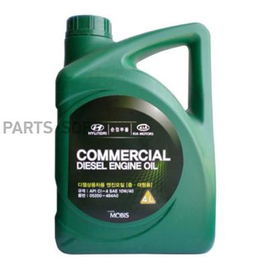Масло моторное полусинтетическое Commercial Diesel 10W-40, 4л