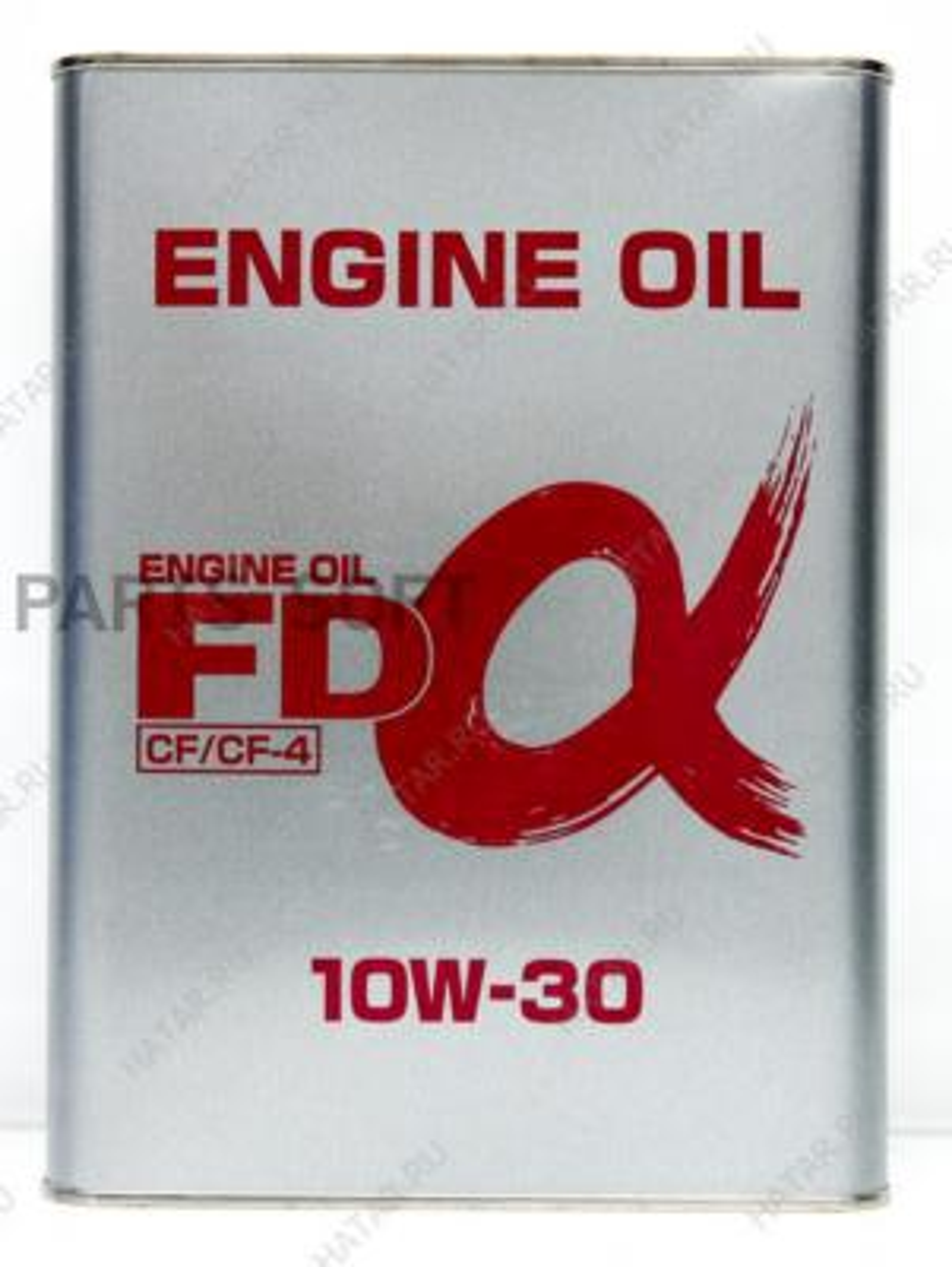 Масло моторное минеральное CF/CF-4 10W-30, 4л