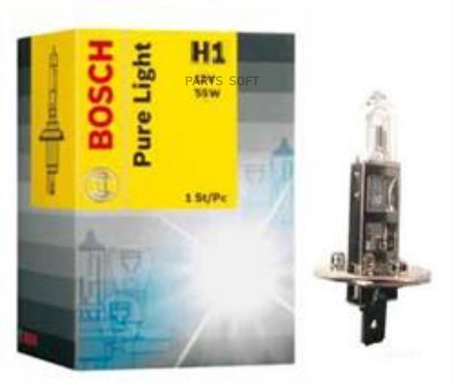 Лампа галоген Pure Light H1 12В 55Вт