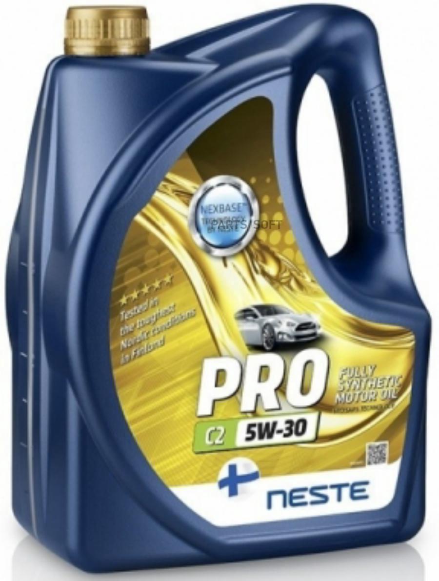 Масло моторное синтетическое Pro C2 5W-30, 4л