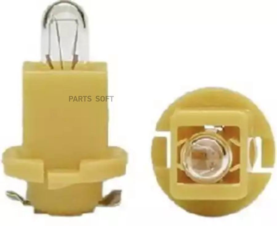 Лампа ebs r4 24 в щиток приборов (желтая)