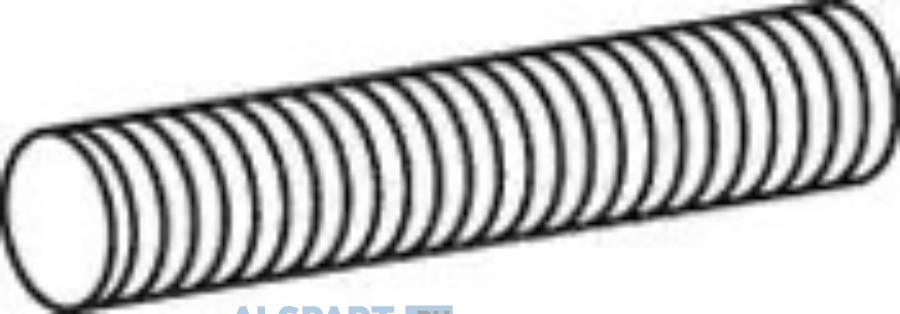 Гофра (нерж) D 77,0 mm L=272 mm EL of 54237