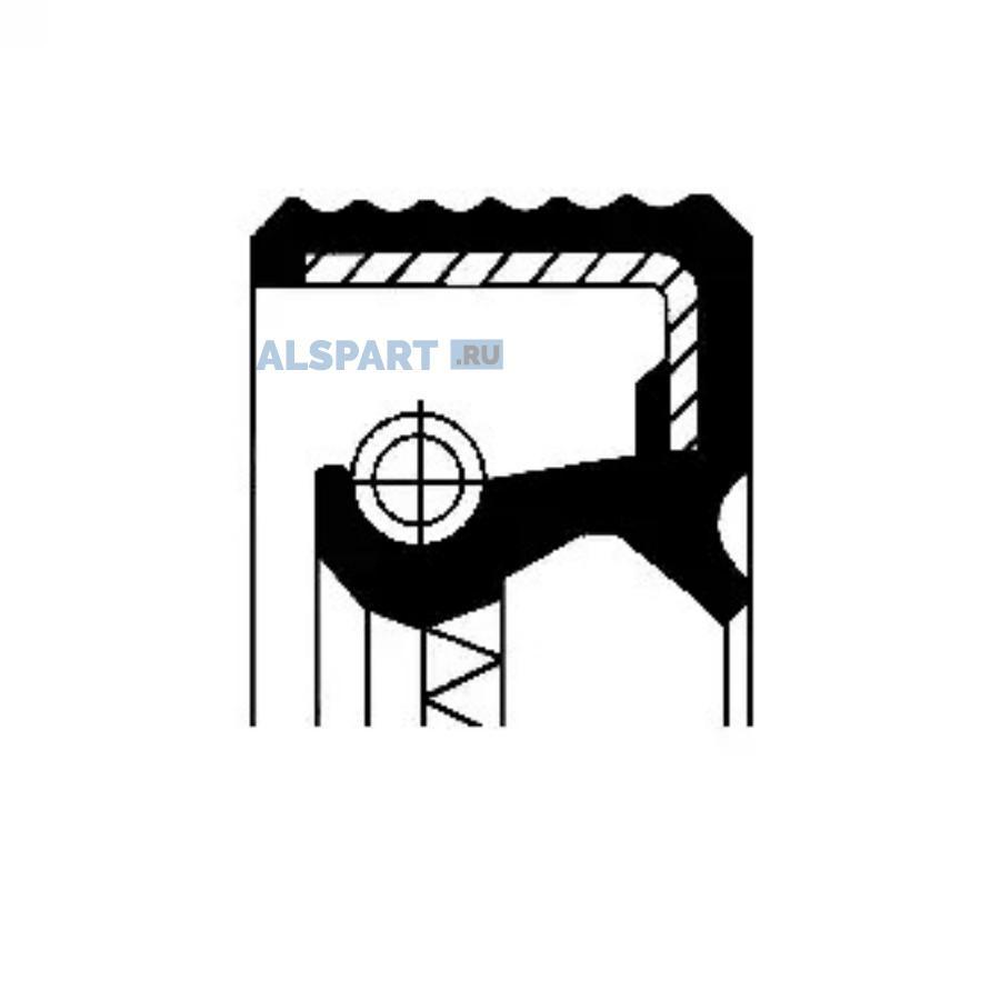 Уплотняющее кольцо, дифференциал; Уплотняющее кольцо, ступица колеса