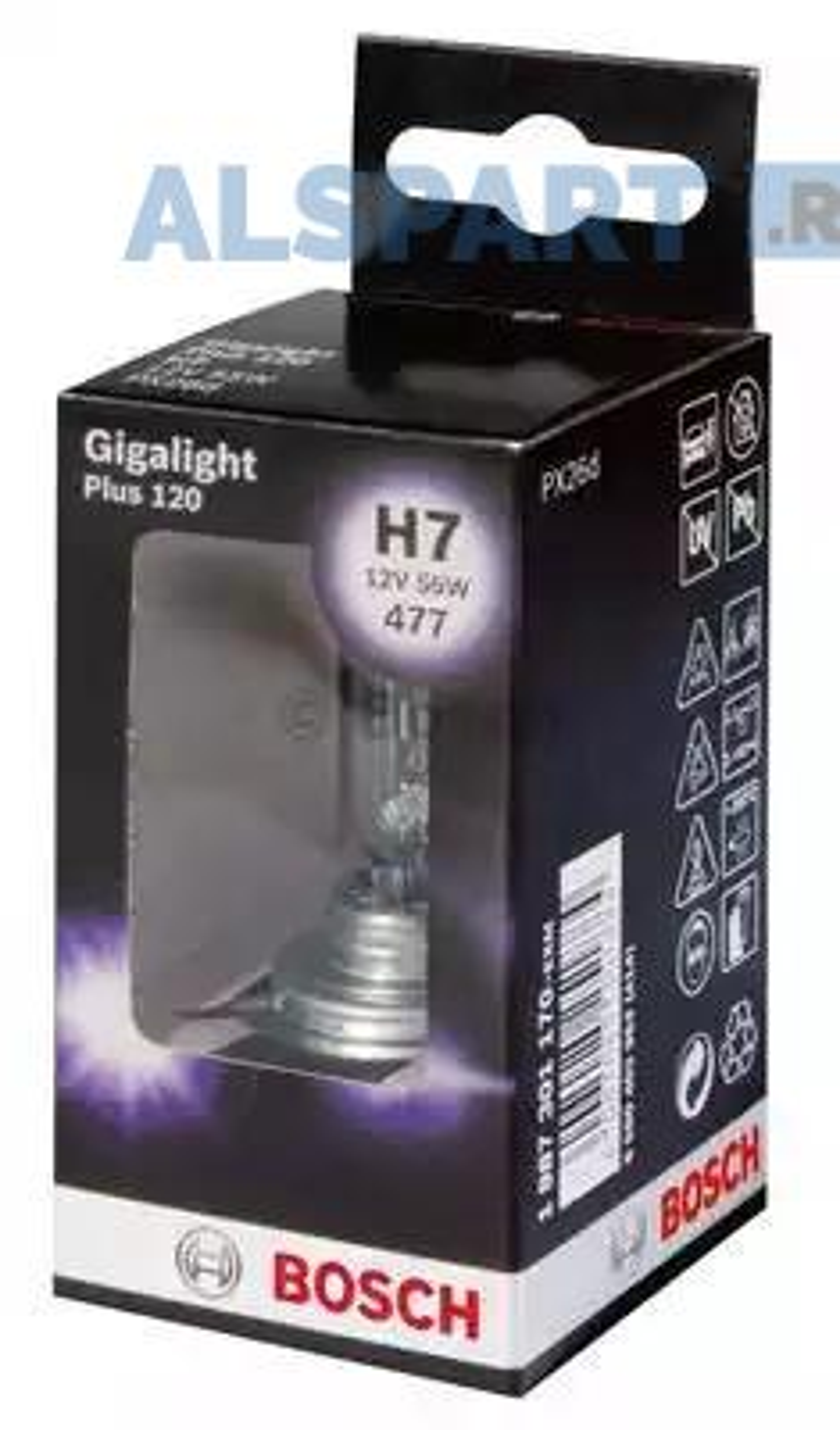 Лампа H7 12V 55W