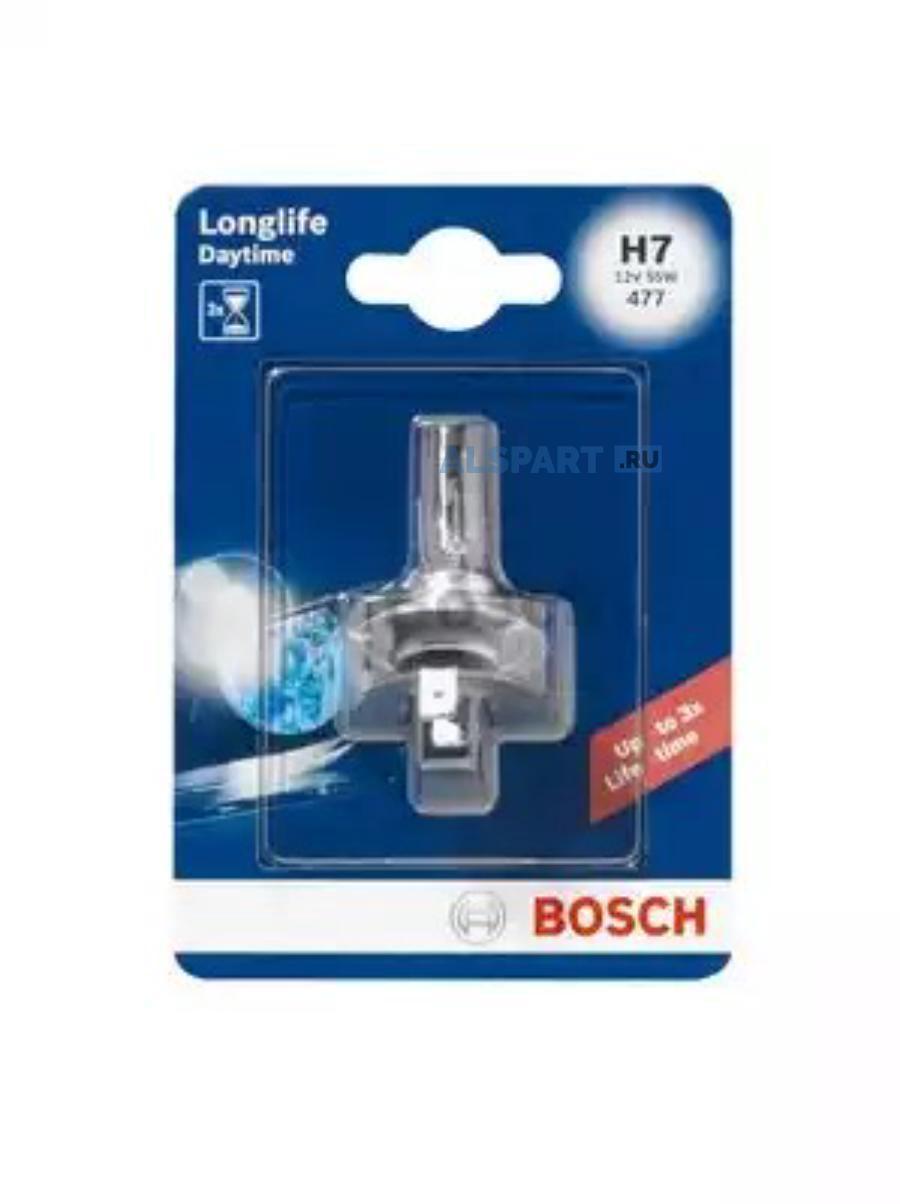 Лампа автомобильная галогенная Goodyear Н7 12V 55W PX26d Long Life (блистер)