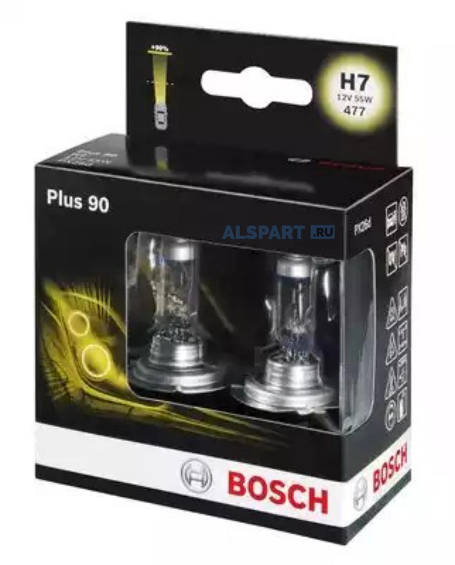 Лампа H7 +90